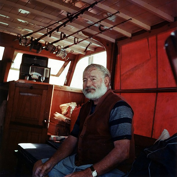According to the FBI's files, Ernest Hemingway tried to convince the agency that he saw a German submarine off the coast of Cuba during World War II. - COURTESY JOHN F. KENNEDY PRESIDENTIAL LIBRARY AND MUSEUM