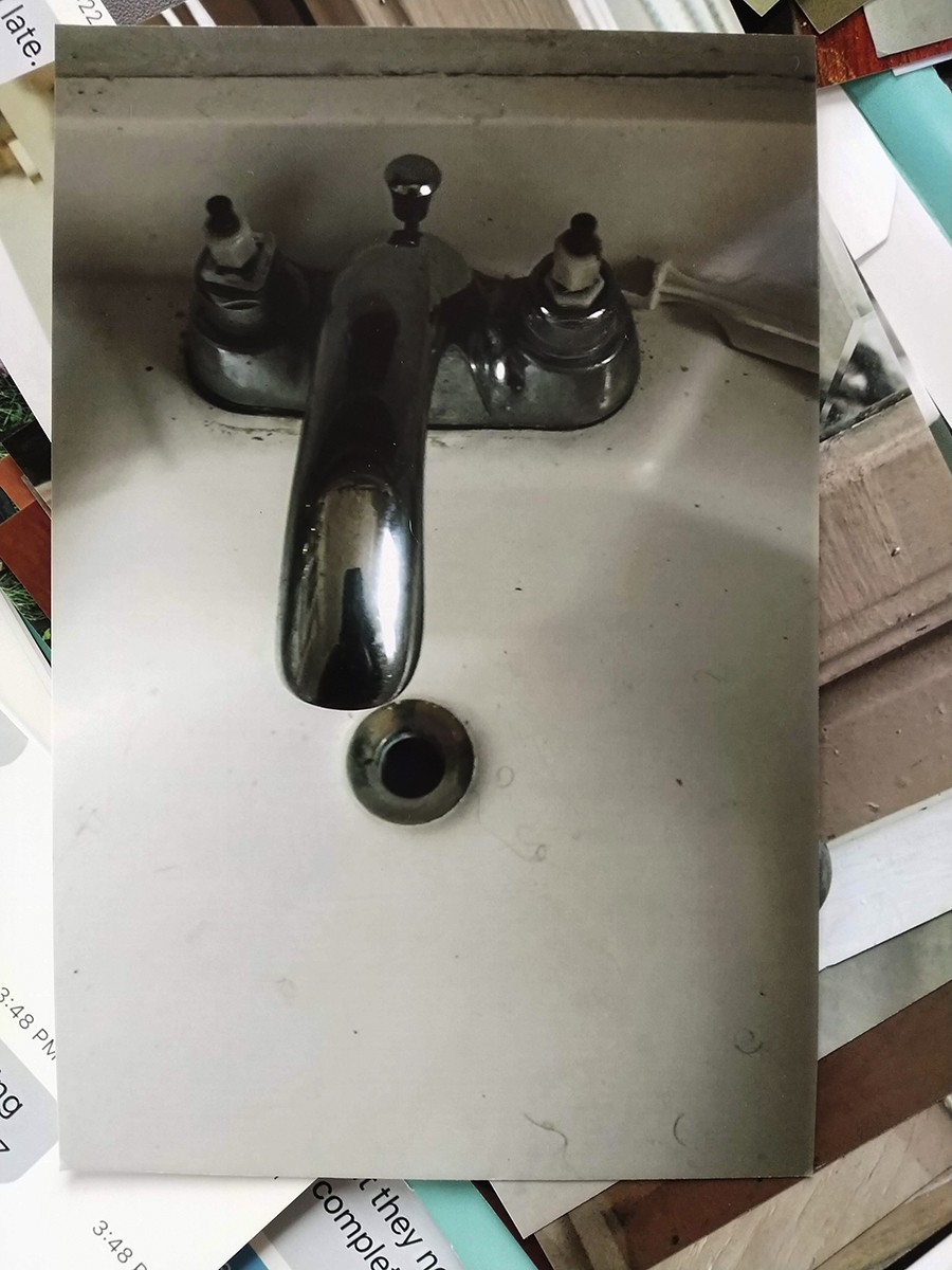 The faucets in Murphy's apartment are broken and require pliers to turn. Her rent is $900 per month. - MAYA DUKMASOVA