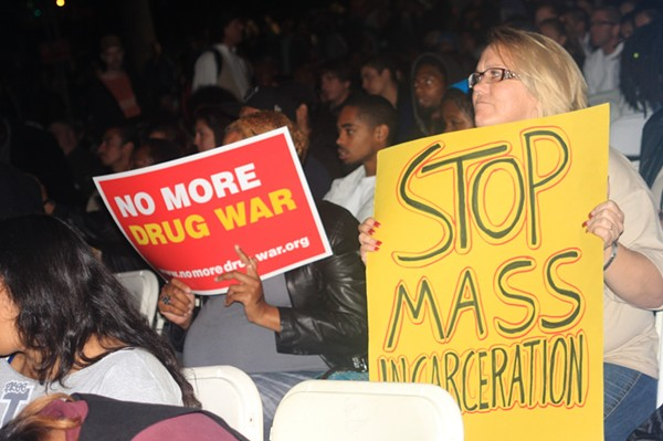 States like California, where this rally was held, are leading the way in instituting progressive drug policies. - NEON TOMMY VIA FLICKR