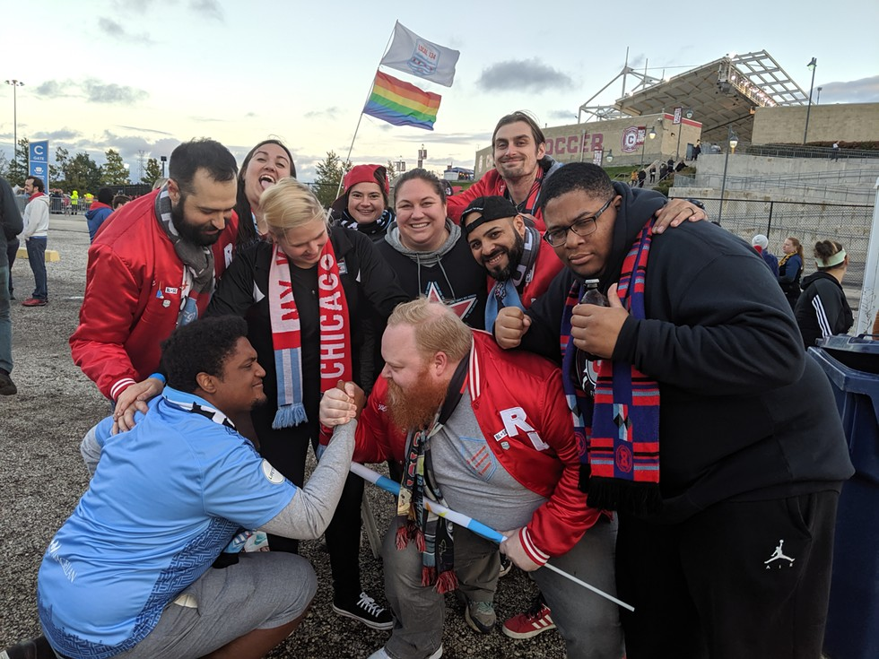 """In early June, the Black Fires released a """"You Gotta Change"""" initiative demanding the Chicago Fire improve their diversity tactics as a team. - COURTESY BLACK FIRES"""
