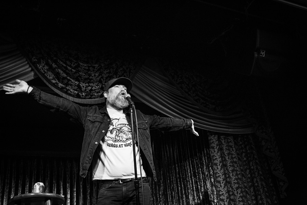 """""""You've been in enough bars in Chicago that you've heard one guy being boisterous and all the friends laughing. That's all it is. There's no magic to comedy.""""   Kyle Kinane - CALLIE BIGGERSTAFF"""