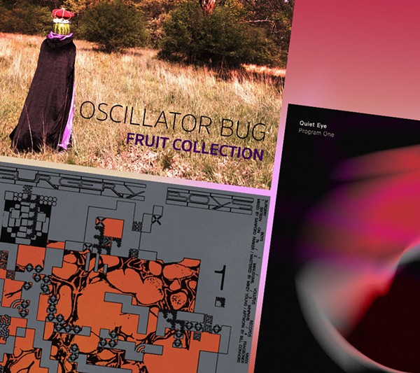 Recent Volutus Records releases include music by Oscillator Bug, Surgery Boys, and Quiet Eye. - COURTESY VOLUTUS RECORDS