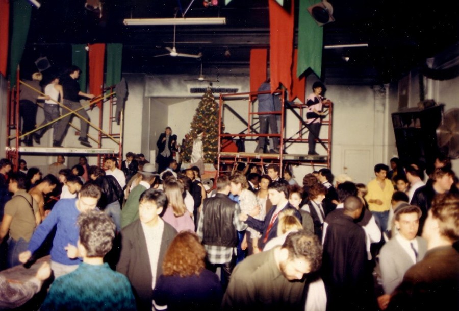 The dance floor at the original Medusa's location on Sheffield - COURTESY MIGUEL ORTUNO