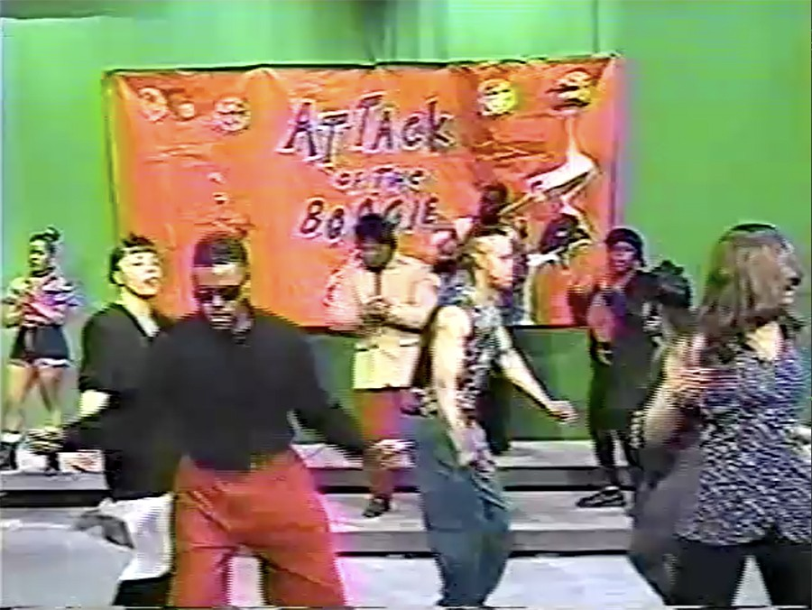 Dancers on Attack of the Boogie in 1993 - COURTESY ANDREW KITCHEN AND MELVIN DUNLAP