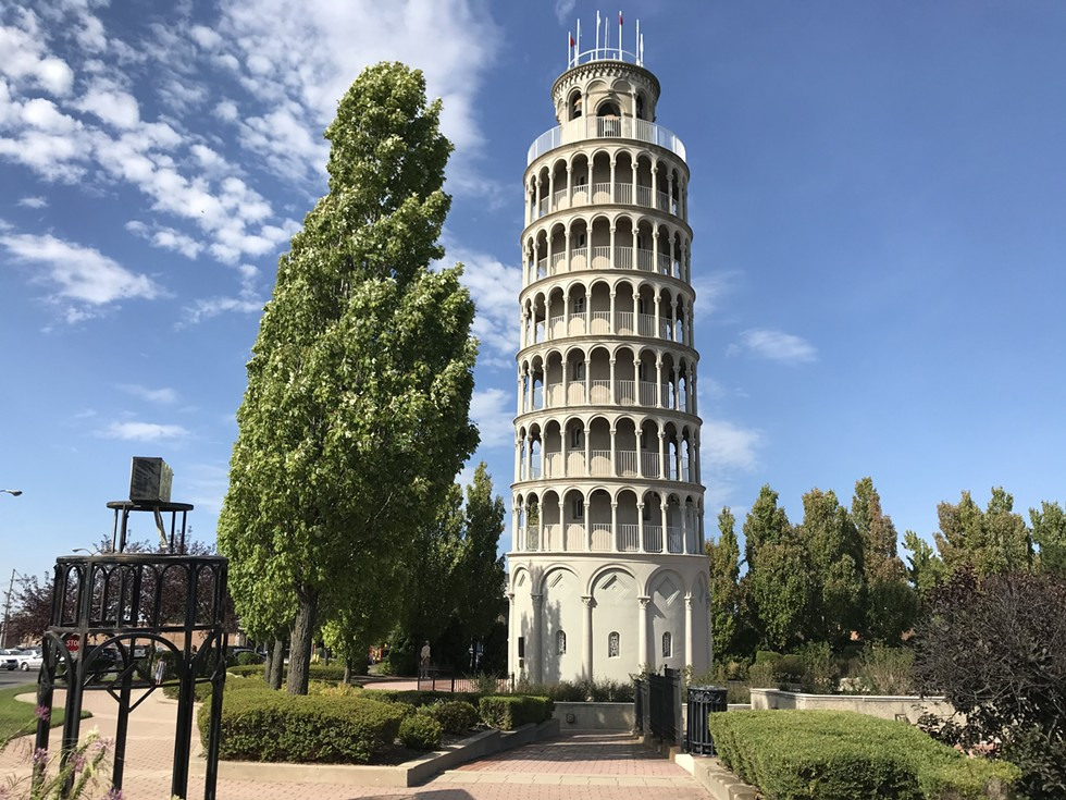 The Leaning Tower of Niles - JOHN GREENFIELD