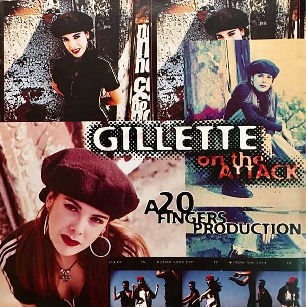 """The single """"Short Dick Man"""" also appears on the album On the Attack, by Gillette with 20 Fingers."""
