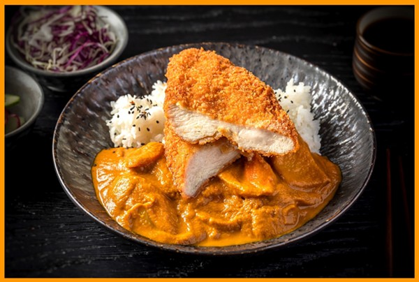 Fried chicken cutlet and curry - COURTESY SHIN THOMPSON
