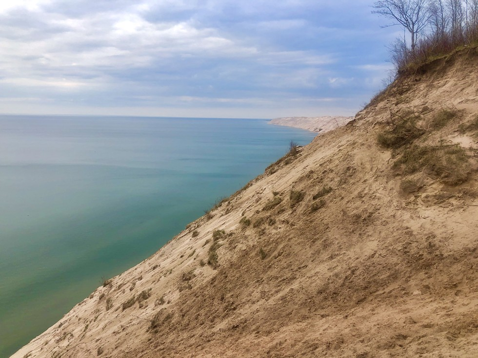 Lake Michigan never looked so gorgeous as it does from the Nordhouse Dunes. - S. NICOLE LANE