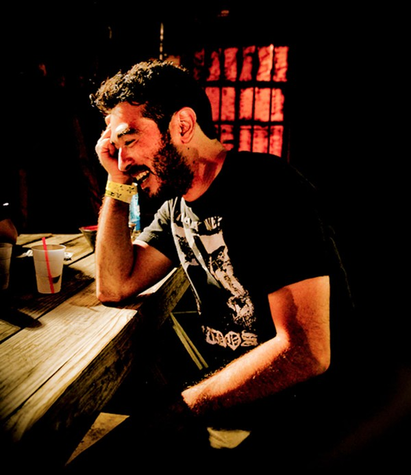 Alejandro Morales at the Buccaneer Lounge in Memphis during Gonerfest 2015 - ALISON GREEN