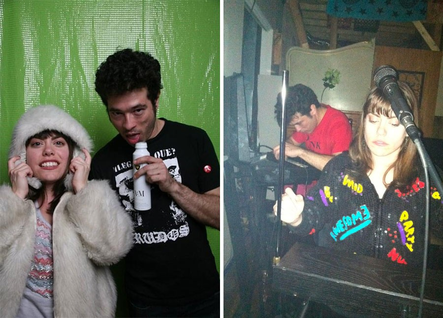 Piss Piss Piss Moan Moan in 2011 (left) and 2012 - PHOTOS BY BRIAN JARREAU (LEFT) AND COURTESY NICOLE MILLER