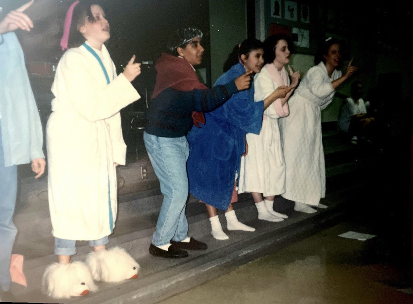 Cheena's acting talents started early on stage in Illinois. - COURTESY NEENA SINGH BRAR
