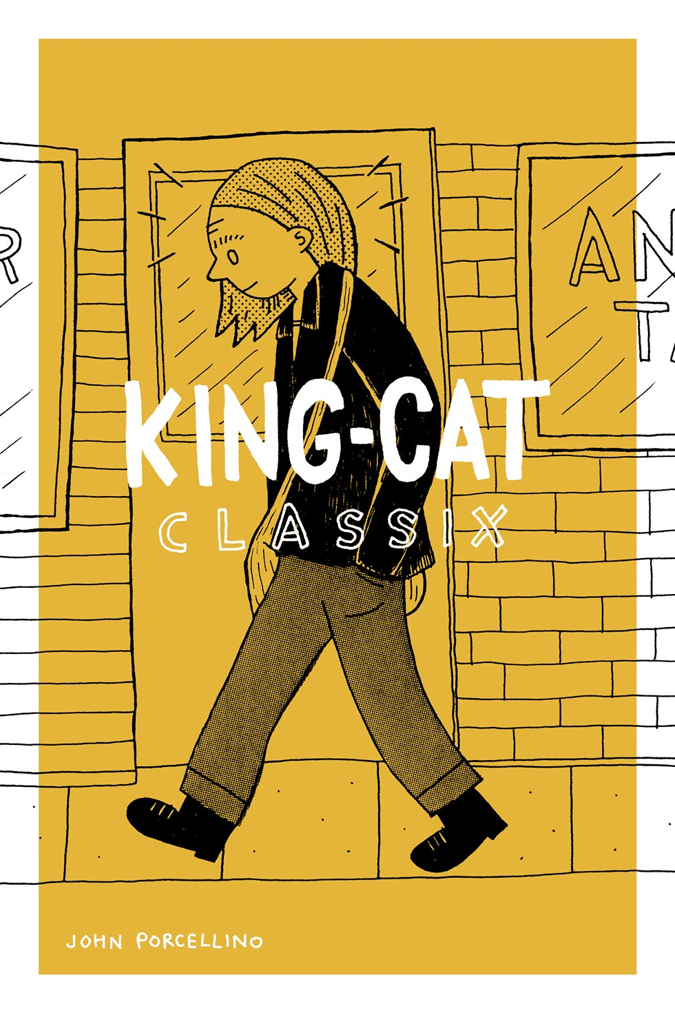 King-Cat Classix is a collection of John Porcellino's zine content from 1989 to 2002. - COURTESY DRAWN & QUARTERLY