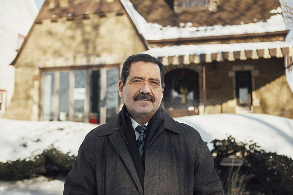 Chuy Garcia photographed for the Reader in 2015. - JEFF MARINI