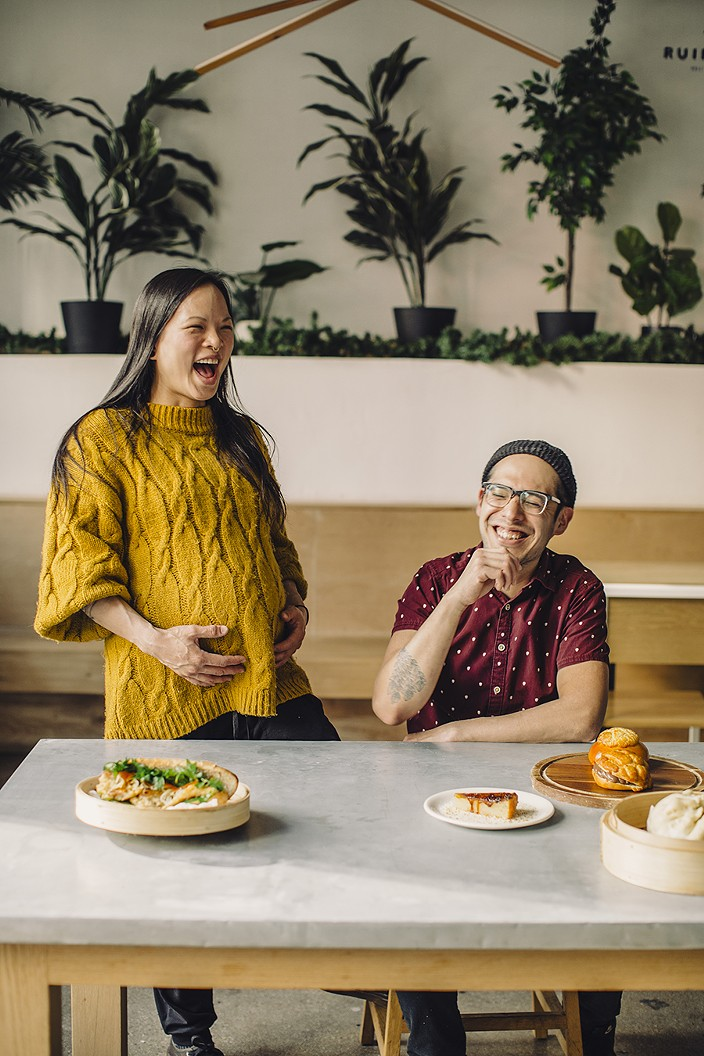 Jeanette Tran-Dean and David Hollinger met in 2014 and bonded over their love for Asian pastries and early exposure to the food of each other's cultures. - JEFF MARINI FOR CHICAGO READER