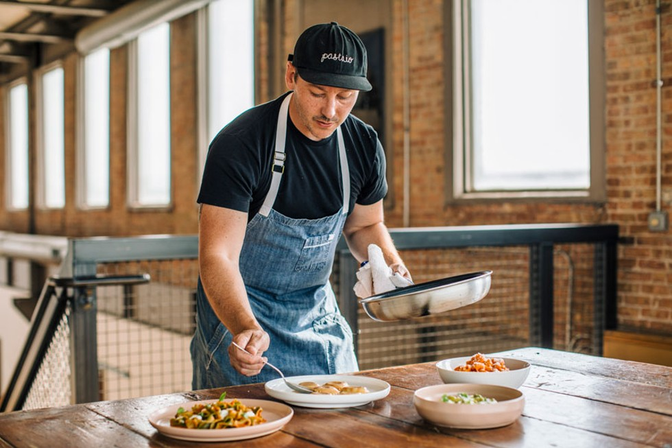 Tony Quartaro's pasta-delivery mailing list quickly grew from 30 Beverly neighbors to 500. - JEFF MARINI FOR CHICAGO READER