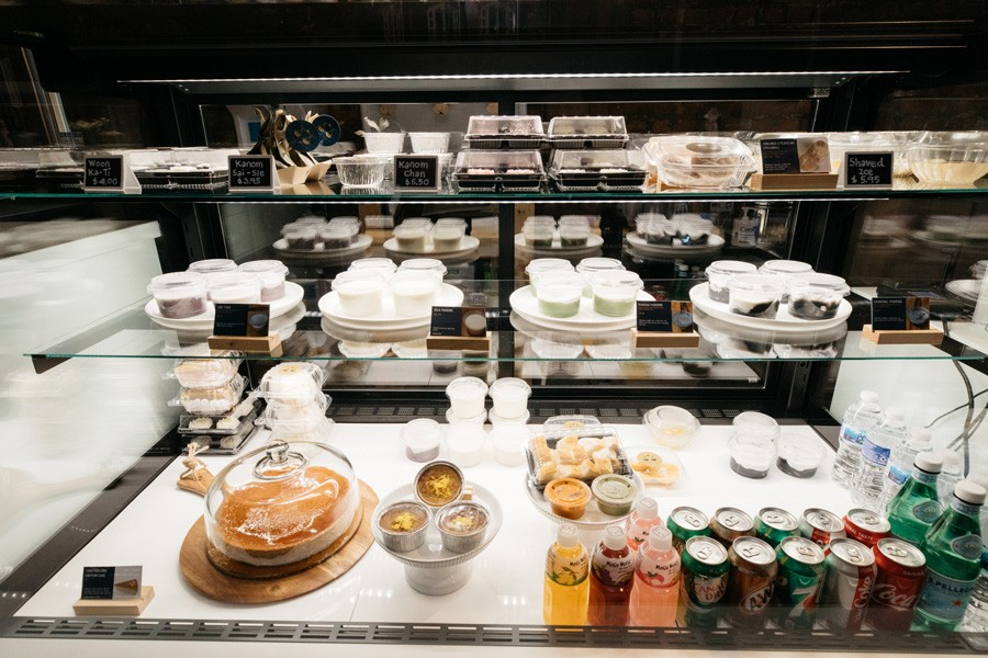 Many of Habrae Cafe's sweets are debuting in the midwest for the first time. - SANDY NOTO FOR CHICAGO READER