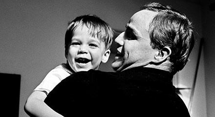 Marlon Brando's troubled childhood—and parenthood—hit the silver screen