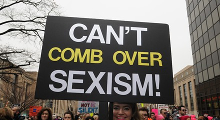 'Does this ass make my sign look big?' and more women's march slogans that probably drove Trump crazy