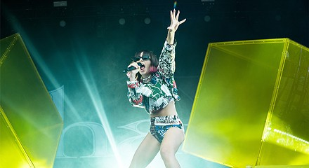 Charli XCX claimed her pop crown at Pitchfork