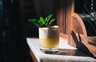 A Franklin Room bartender makes a cocktail with a Budweiser product that tastes like 'barley and regret'