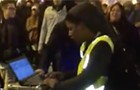 Did you see the Twitter video of a mobile DJ at a Chicago Trump protest? Here's the story behind the song.