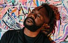 Multidisciplinary Chicago artist Mykele Deville brings hip-hop history to the present on <i>Peace, Fam</i>