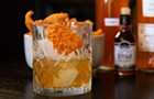Gas station pork rinds and scotch? Watch this week's Cocktail Challenge