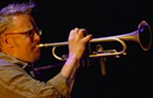 Trumpeter Russ Johnson dances along a fine line