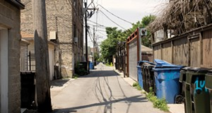 Chicago alleys are full of utilitarian wonder