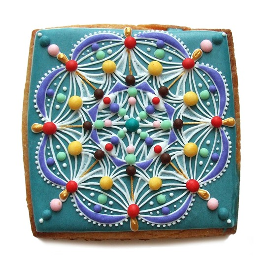 Elizabeth Tamny's cookie art