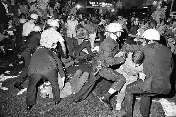Police Violence in Chicago, featured in Little House's 16mm Film Parade