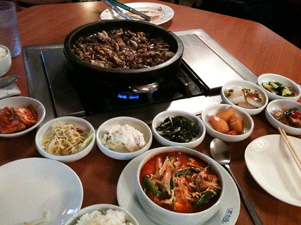 Best Korean Restaurant Best Of Chicago 2015 Food Drink