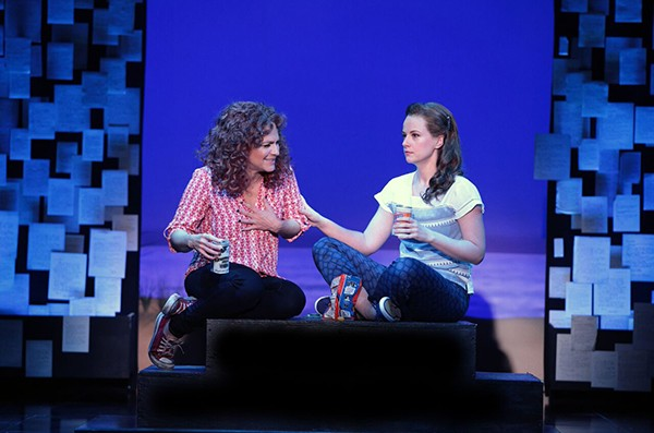 Shoshana Bean and Whitney Bashor