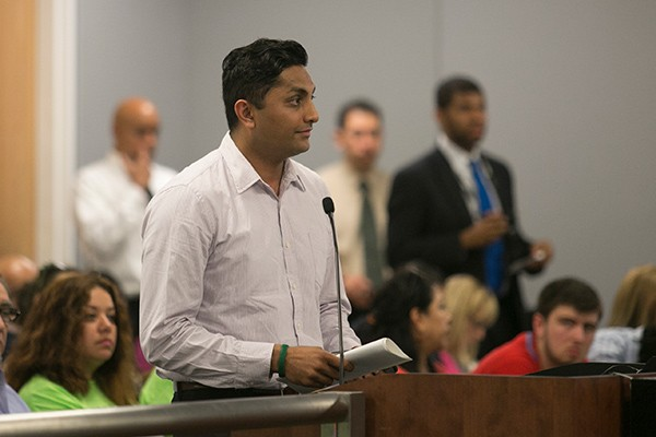 Alderman Ameya Pawar (47th) has been speaking out against charter school expansion in his north-side ward.