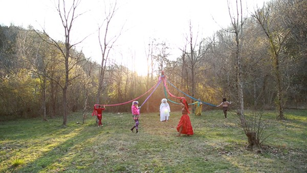 "Video still of Macon Reed's Witchual, one of the pieces featured in ""Platforms"""