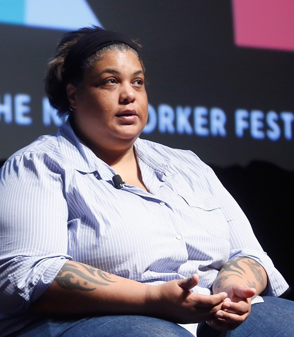 Roxane Gay at the New Yorker Festival earlier this month