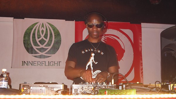 Cajmere at the 2011 Decibel festival in Seattle