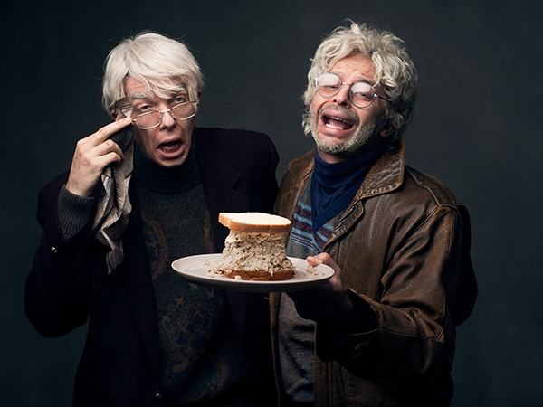 John Mulaney and Nick Kroll as George St. Geegland and Gil Faizon
