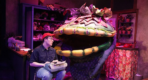 Michael Mahler and Audrey II