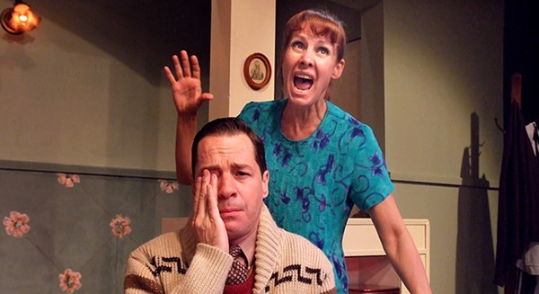 French Stewart and Laurie Metcalf