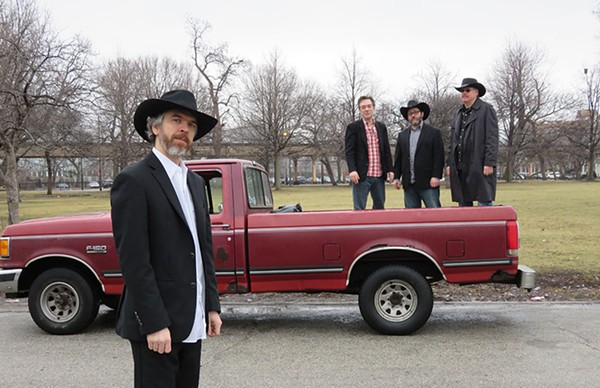 Dan Whitaker & the Shinebenders recently released the album Truck Ride.
