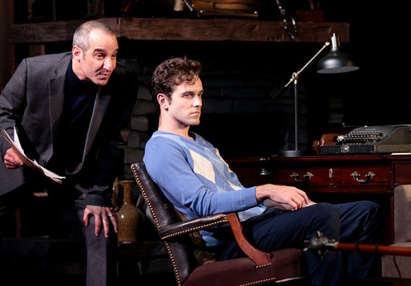 Daniel Cantor and Aaron Lattrell in Deathtrap