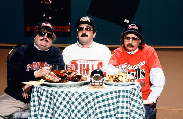 "The Saturday Night Live sketch ""Bill Swerski's Superfans"" lampooned Chicagoese."