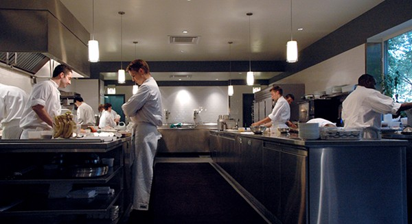 The kitchen at Alinea