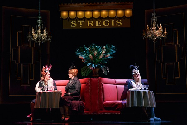 Christine Ebersole, Mary Ernster, and Patti LuPone