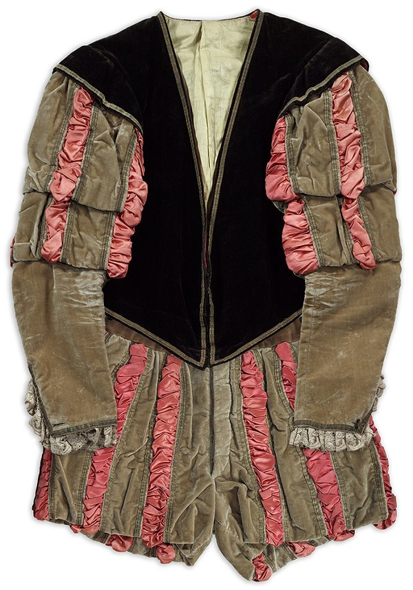 Costume worn in Chicago by Edwin Booth as Iago in Othello.