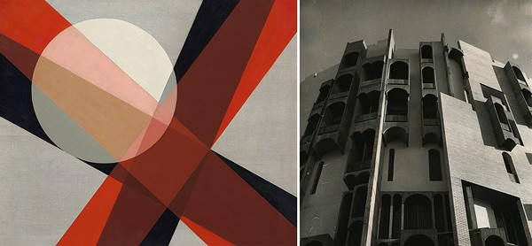 László Moholy-Nagy, A 19, 1927; Rifat Chadirji, IRQ/314/153: Administration Offices, Federation of Industries, Baghdad 1966