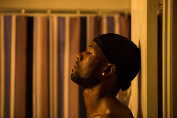Trevante Rhodes stars as Chiron in Moonlight