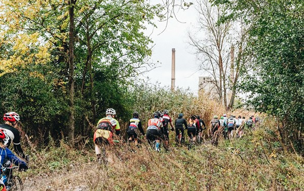 A cyclocross race in Big Marsh in October 2014. Advocates want the city to build safer cycling routes into the park.
