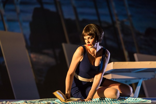 Valerie Vinzant in Chicago Opera Theater's world premiere of The Invention of Morel
